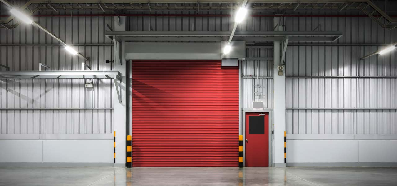 warehouse shutters