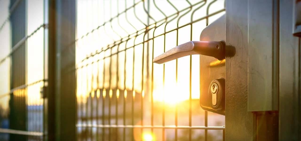 metal security gates