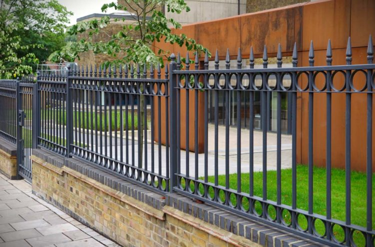 security railings and fencing