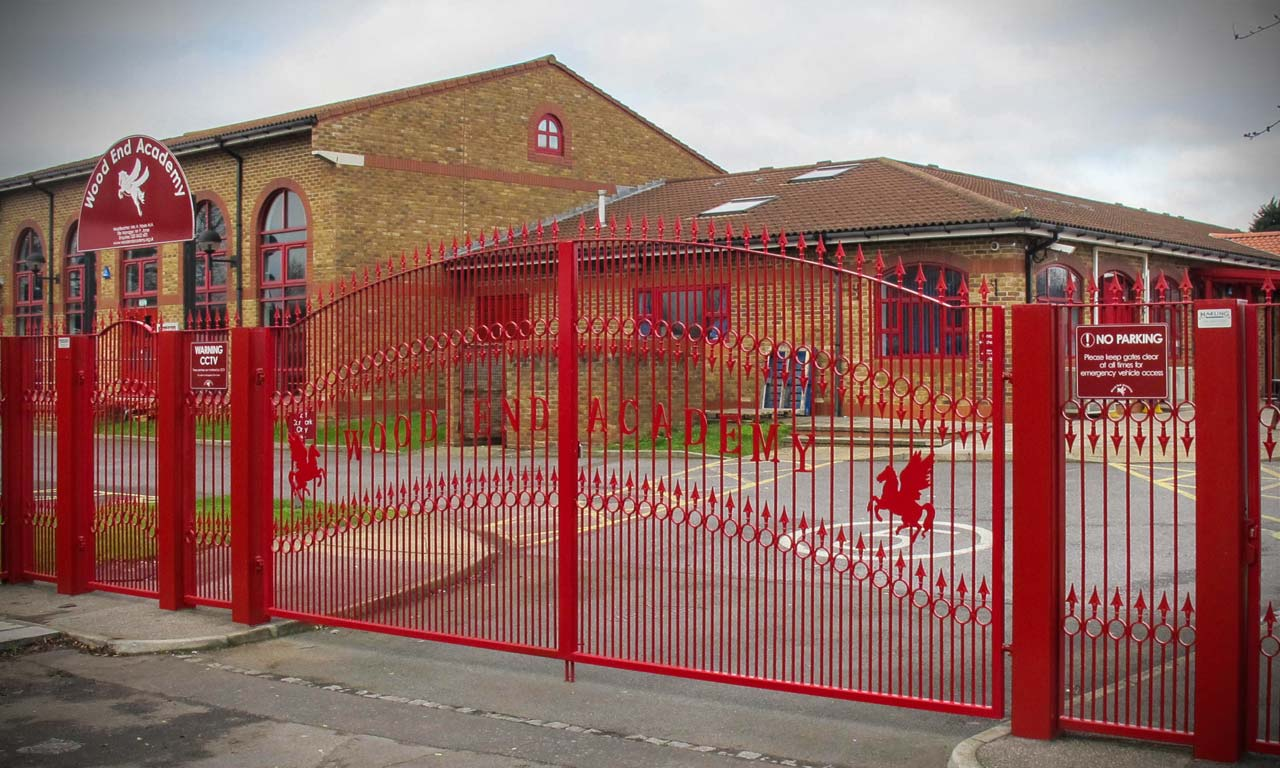 school gates wood end academy