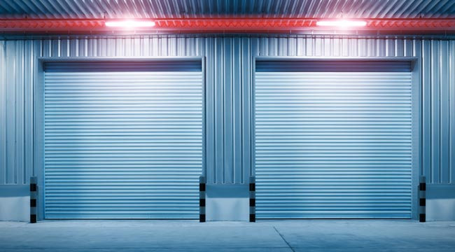 Metal roller shutters