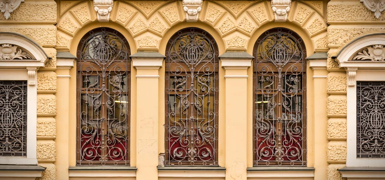 decorative window grilles