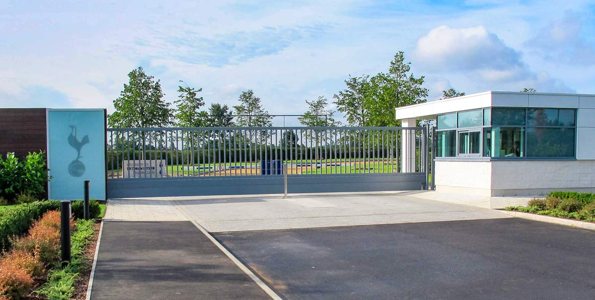automated sliding security gates