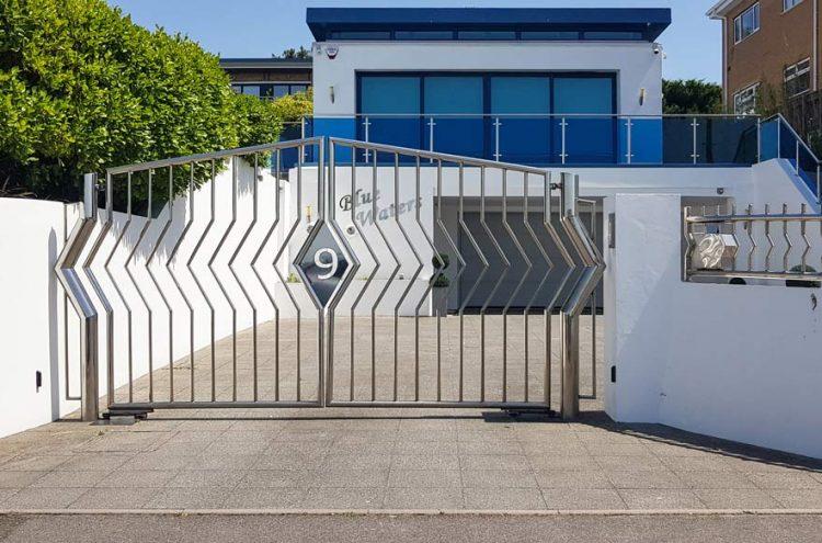 automatic swing gates