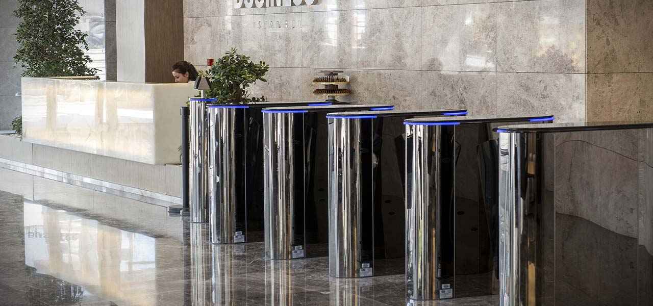 Turnstiles for Receptions and Entrances