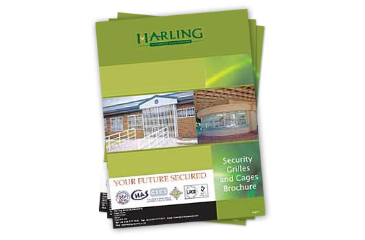Security Grilles and Cages Brochure