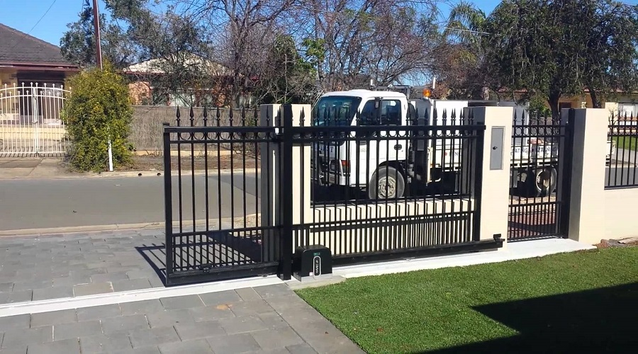 installing security gate