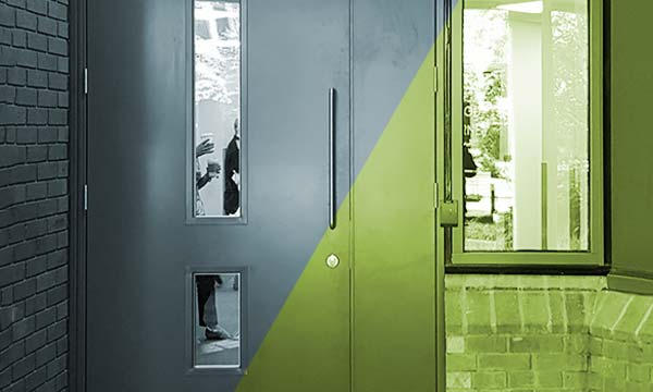 Regents House Security Doors by Harling Security