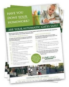 Automatic Gate Safety Checklist