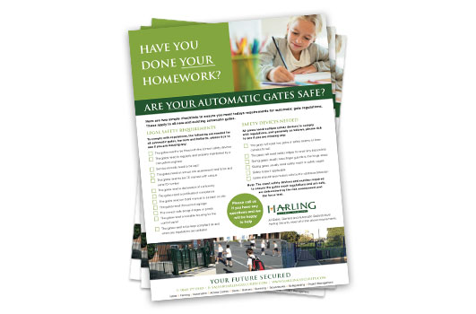 Automatic Gate Safety Checklist